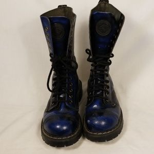 Men's, Grinders Dr Martens Style Steel Toe Boots